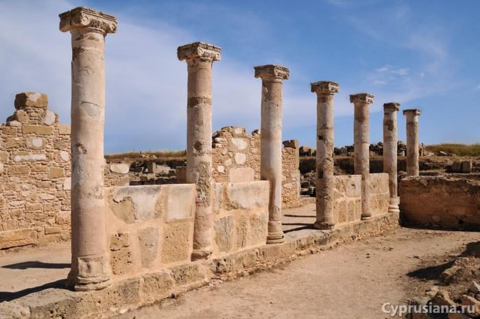 В археологическом парке Пафоса
