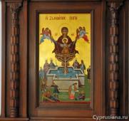 Изображение иконы Богородицы