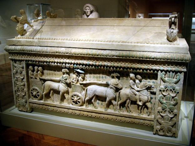 Саркофаг из Аматуса
