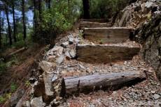Тропа к водопаду Милломерис