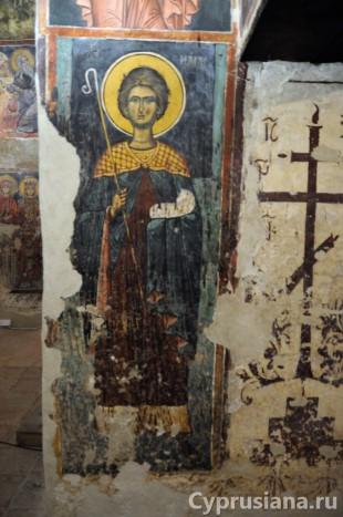 Церковь Святого Ираклидия в монастыре св. Иоанна Лампадиста в Калопанайотисе (около 1400 года)