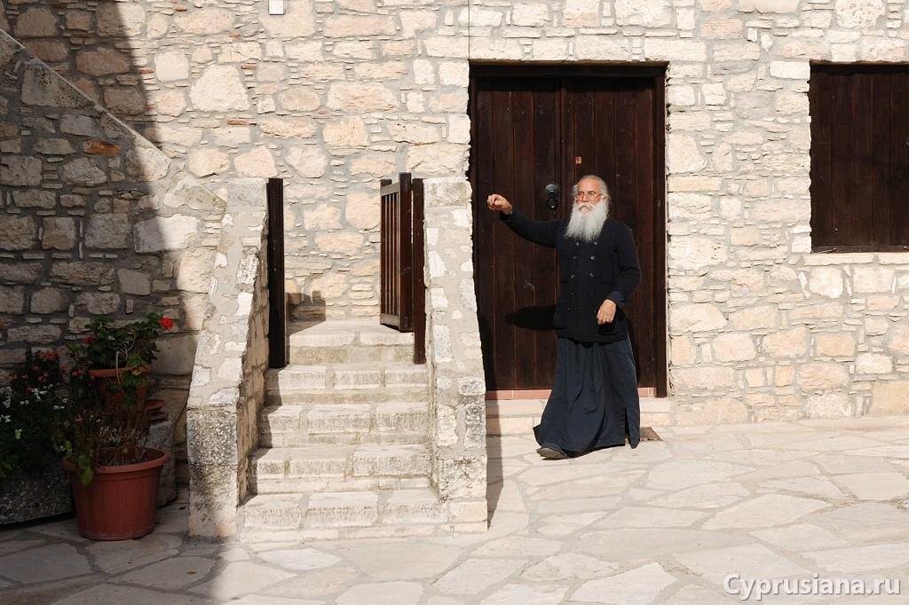 В кипрском монастыре