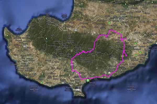 Маршруты Кипра