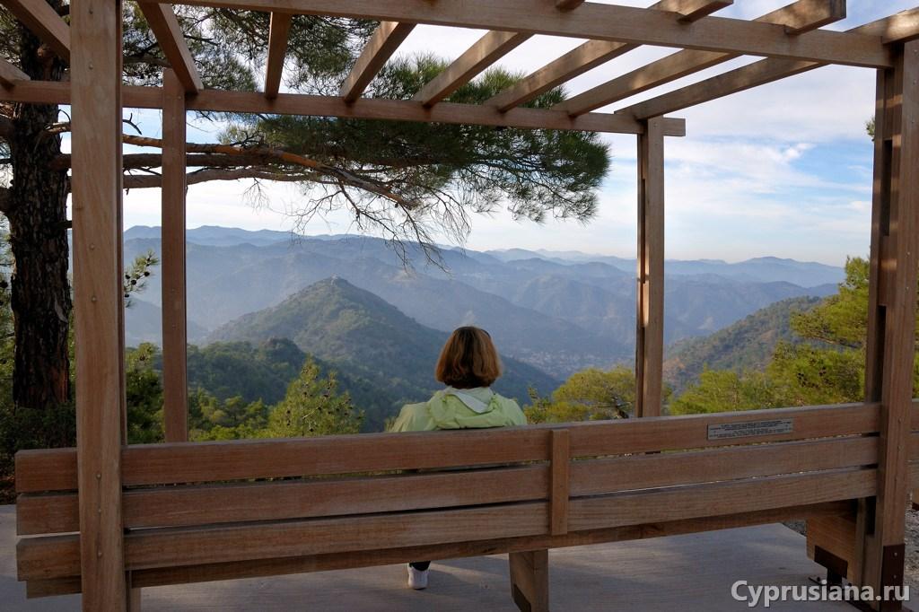 В горах Троодоса
